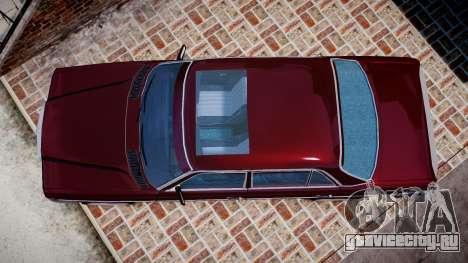 Mercedes-Benz 230E 1976 Tuning для GTA 4 вид справа