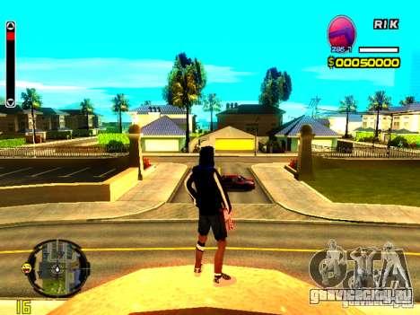 Skin бомжа v8 для GTA San Andreas второй скриншот