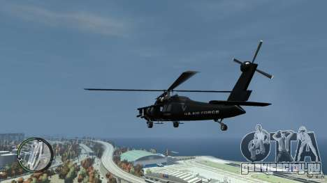 U.S. Air Force (annihilator) для GTA 4 вид сзади слева