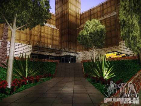 Новый госпиталь Лос-Сантоса для GTA San Andreas третий скриншот