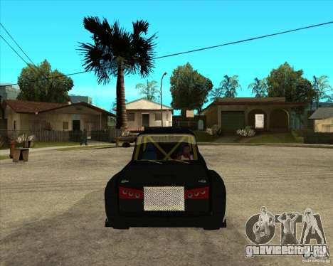ВАЗ 2104 volk для GTA San Andreas вид сзади