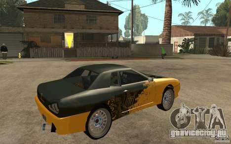 Monster Elegy для GTA San Andreas вид справа