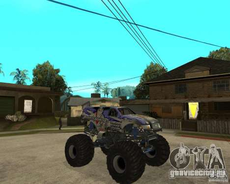 Bounty Hunter для GTA San Andreas вид справа
