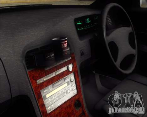 Toyota Mark II GX90 v.1.1 для GTA San Andreas вид сзади