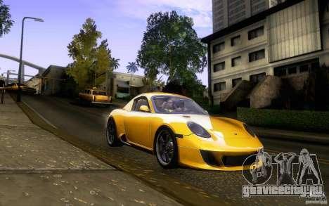 Ruf RK Coupe V1.0 2006 для GTA San Andreas вид сбоку