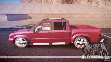 Chevrolet S10 для GTA 4 вид слева