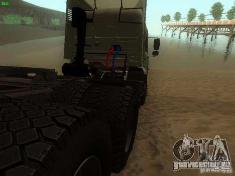 КамАЗ 6460 для GTA San Andreas вид справа