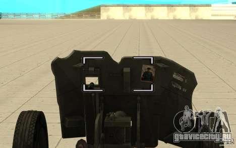 Полковая пушка 53-К 45мм для GTA San Andreas вид справа