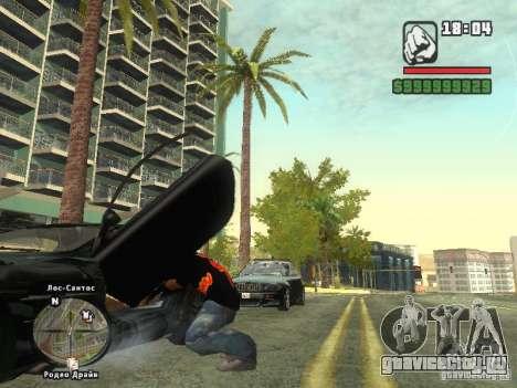 Футболка THE MIZ для GTA San Andreas третий скриншот