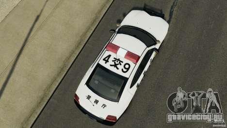 Dodge Charger Japanese Police [ELS] для GTA 4 вид справа
