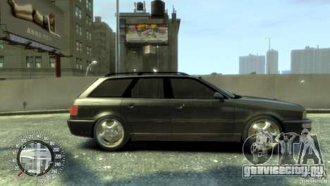 Audi RS2 Avant для GTA 4 вид сзади слева