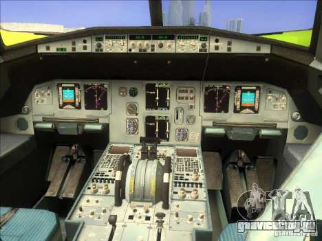 Airbus A-320 S7Airlines для GTA San Andreas вид справа