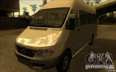 Mercedes Benz Sprinter 315 CDI для GTA San Andreas