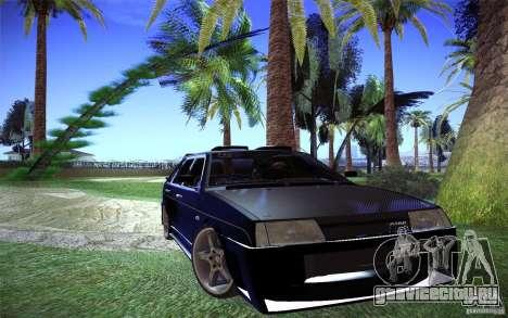 ВАЗ 2109 Карбон для GTA San Andreas вид справа