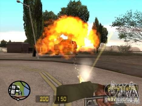 Вид как в Counter Strike для GTA San Andreas для GTA San Andreas четвёртый скриншот