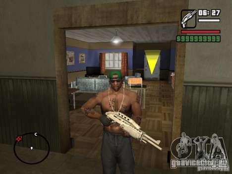 Перчатки без пальцев для GTA San Andreas третий скриншот