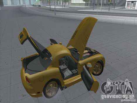 Dodge Viper SRT-10 (Золотой вайпер) для GTA San Andreas