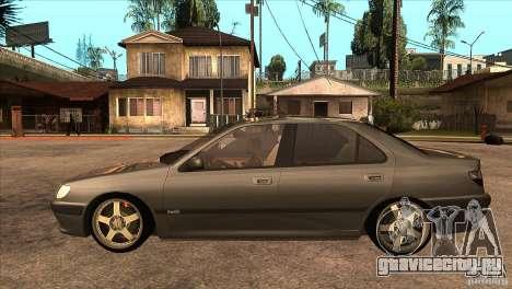 Peugeot 406 v1 для GTA San Andreas вид слева