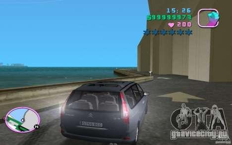 Citroen C8 для GTA Vice City вид сзади слева