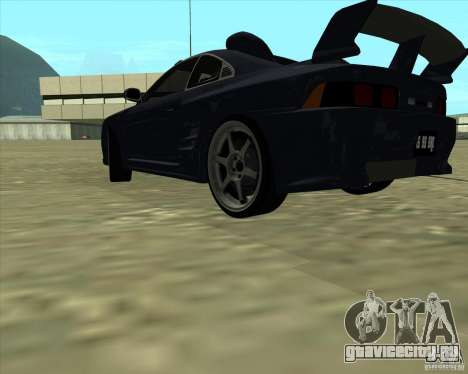 Toyota MR2 1994 для GTA San Andreas вид сбоку