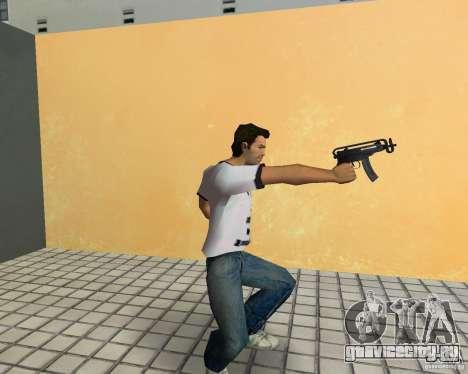 Vz-61 Skorpion для GTA Vice City третий скриншот