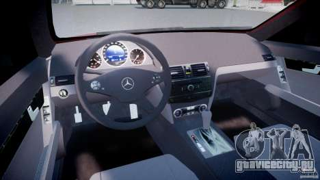 Mercedes-Benz C 280 T-Modell/Estate для GTA 4 вид справа