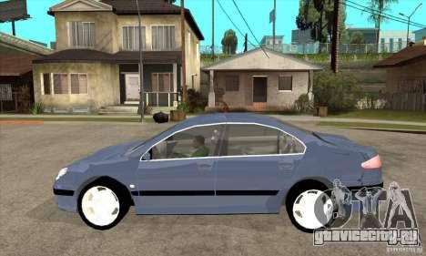 Peugeot 607 для GTA San Andreas вид слева
