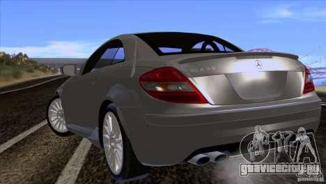 Mercedes-Benz SLK 55 AMG для GTA San Andreas вид справа