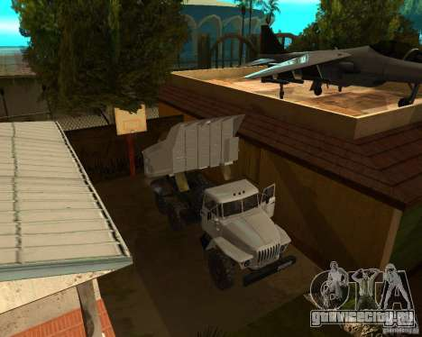 Урал 55571 Самосвал для GTA San Andreas