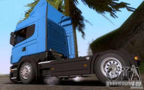 Scania R500 для GTA San Andreas вид слева
