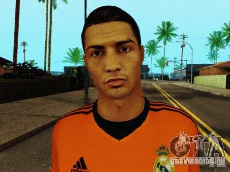 Криштиану Роналду v3 для GTA San Andreas шестой скриншот