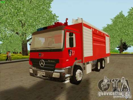 Mercedes Benz Actros Bomberos C1 для GTA San Andreas