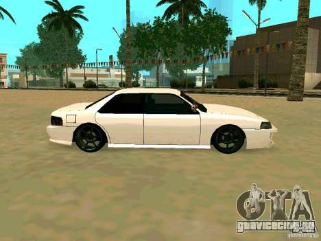 New Sultan v1.0 для GTA San Andreas вид сбоку