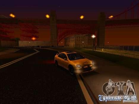 Dodge Neon SRT4 2006 для GTA San Andreas вид сверху