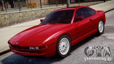 BMW 850i E31 1989-1994 для GTA 4 вид сверху