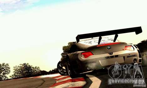 BMW Z4 E85 M GT 2008 V1.0 для GTA San Andreas вид справа