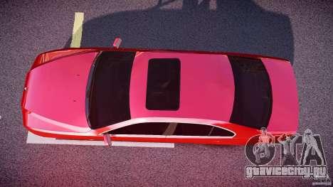 BMW 530I E39 stock chrome wheels для GTA 4 вид справа