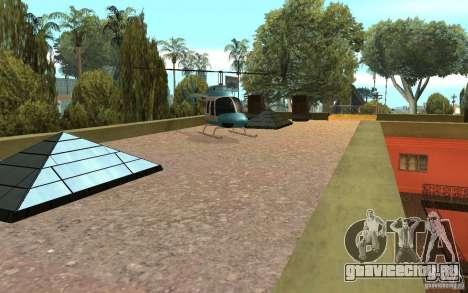 UGP Moscow New Jefferson Motel для GTA San Andreas пятый скриншот