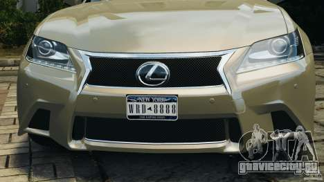Lexus GS350 2013 v1.0 для GTA 4