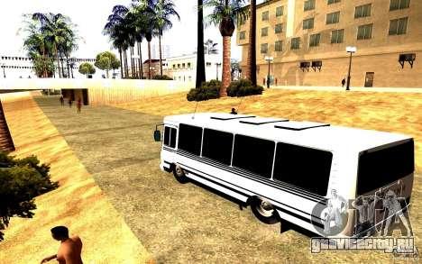 ПАЗ 3205 Dag для GTA San Andreas вид слева
