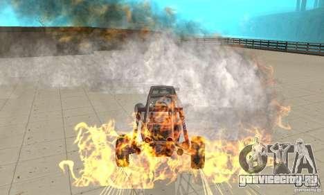 GTA FEATURE BURNOUT FIX 1.2 для GTA San Andreas третий скриншот