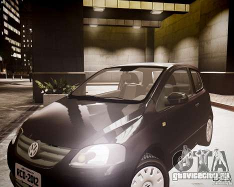 Volkswagen Fox 2011 для GTA 4 вид справа