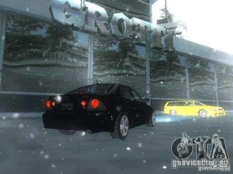 Lexus IS300 для GTA San Andreas двигатель
