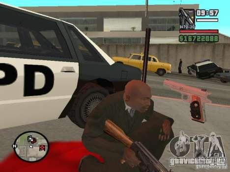 Silverballer из Hitman для GTA San Andreas третий скриншот