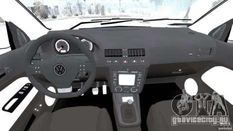 Volkswagen Golf Sportline 2011 для GTA 4 вид сзади