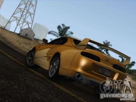 Toyota Supra TRD3000GT v2 для GTA San Andreas салон