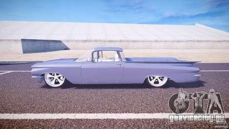 Chevrolet El Camino Custom 1959 для GTA 4 вид слева