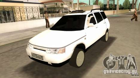 ВАЗ 2111 для GTA Vice City вид изнутри