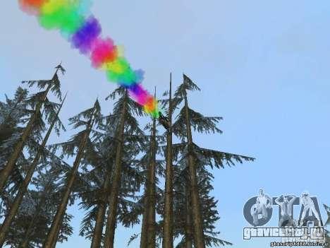 Bike Smoke для GTA San Andreas третий скриншот