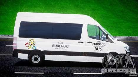 Mercedes-Benz Sprinter Euro 2012 для GTA 4 вид слева